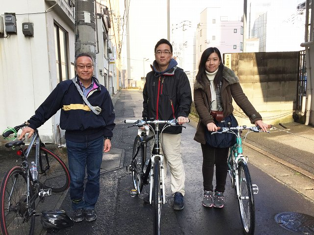 Fukuoka Bike Tour 20160131_fb