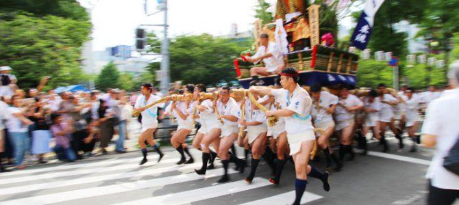 Hakata Gion Yamakasa Festival in 2019