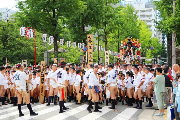 yamakasa in 2019